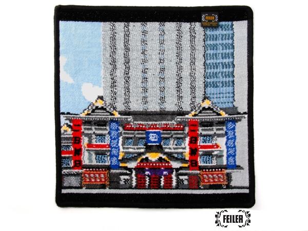 歌舞伎コラボ KABUKIZA ウォッシュタオル(取扱店舗限定)