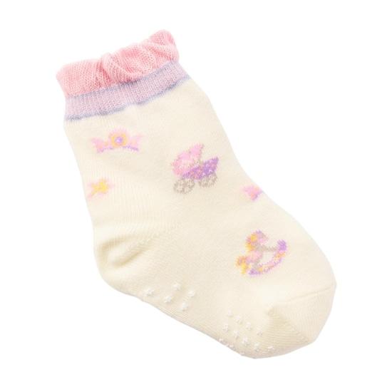 ベビーシャワーピンク 靴下 JEBSP-181051