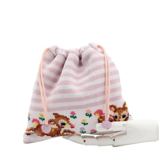 ツンツンバンビーノボーダー 巾着 L/TTBB-183012