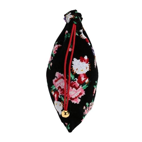HELLO KITTYコラボ ハローキティローズ 巾着 HKR-170032