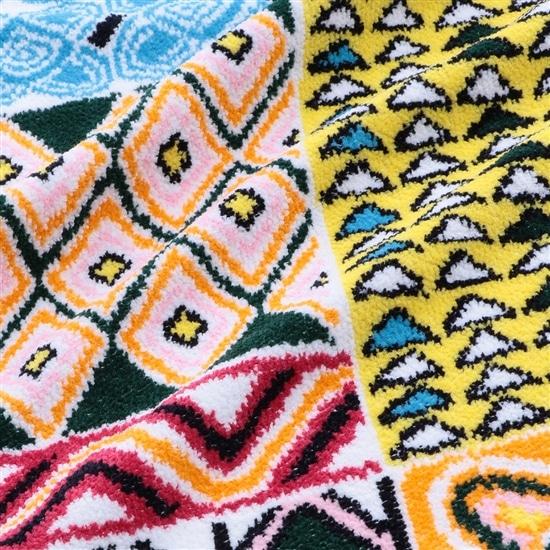 アフリカンマーケット バスタオル
