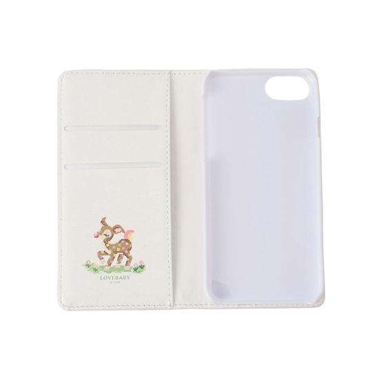 ツンツンバンビーノ 手帳型iPhoneケース(7・8対応) L/PTTB-193013