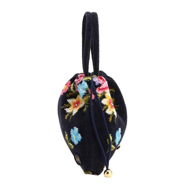 ナルチッセ 手付き巾着バッグ NAZ-171091
