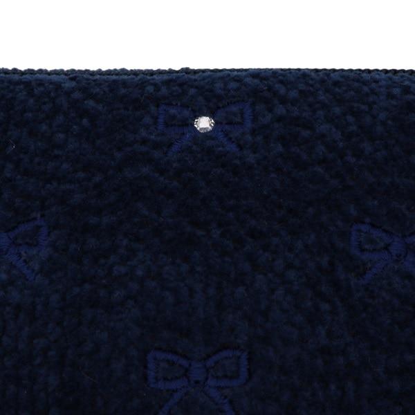 ラブラリープリティカラー リボン刺繍ポーチ L/LPC-163132