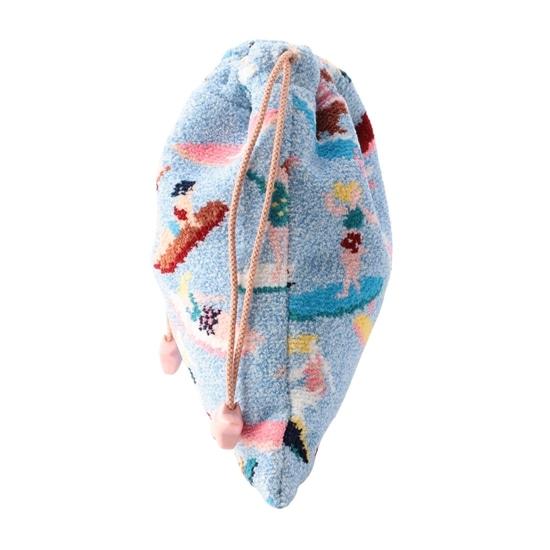 ナミノリガール 巾着 L/NNG-193045