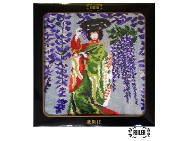 歌舞伎コラボ 藤娘 ウォッシュタオル