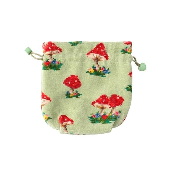 【銀座店・WEB限定】マッシュルームフォレスト 巾着 MUF-186011