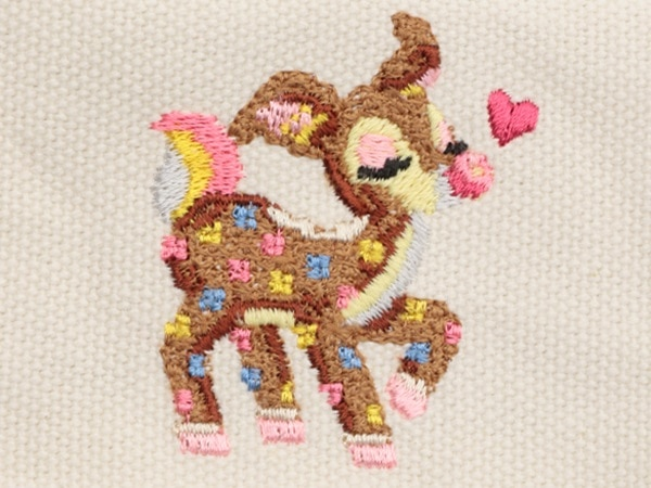 ツンツンバンビーノ 帆布×刺繍 L/HTTB-163105