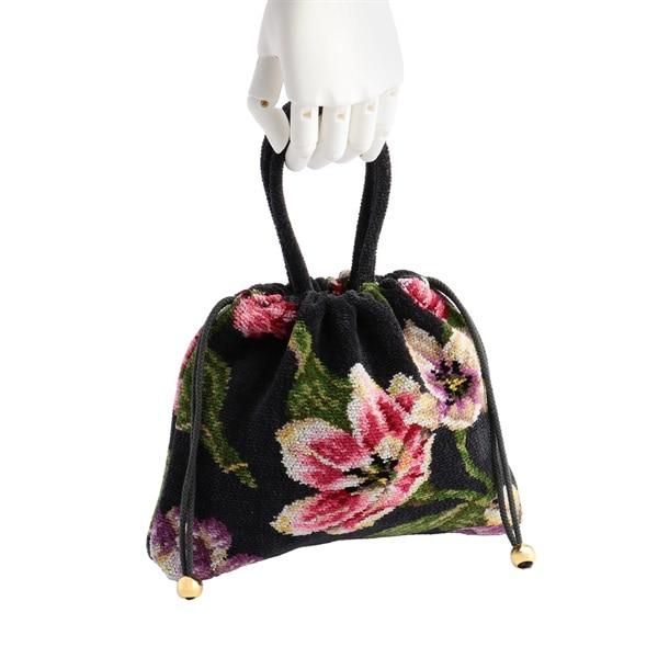 プリーマアンジェリケ 手付き巾着バッグ PRA-171091