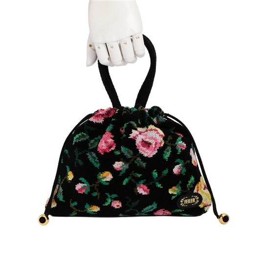 ゴラローズ 手付き巾着バッグ GOR-181091
