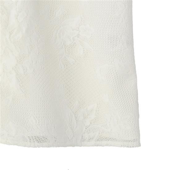 ポピーズレース 七分袖ブラウス JEPOL-181122