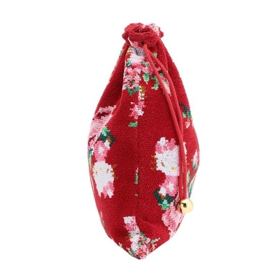 HELLO KITTYコラボ ハローキティローズ 巾着 HKR-170032(取扱店舗限定)