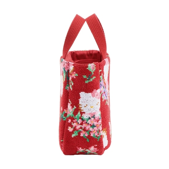 HELLO KITTYコラボ ハローキティローズ バッグインミニトート HKR-170036(取扱店舗限定)