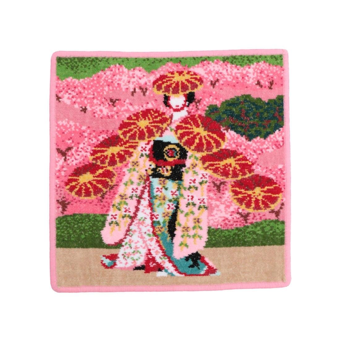 歌舞伎コラボ 京鹿子娘道成寺 ウォッシュタオル(取扱店舗限定)