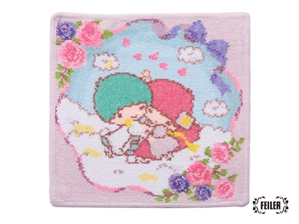 LittleTwinStarsコラボ リトルツインスターズ・ダンス ハンカチ(取扱店舗限定)