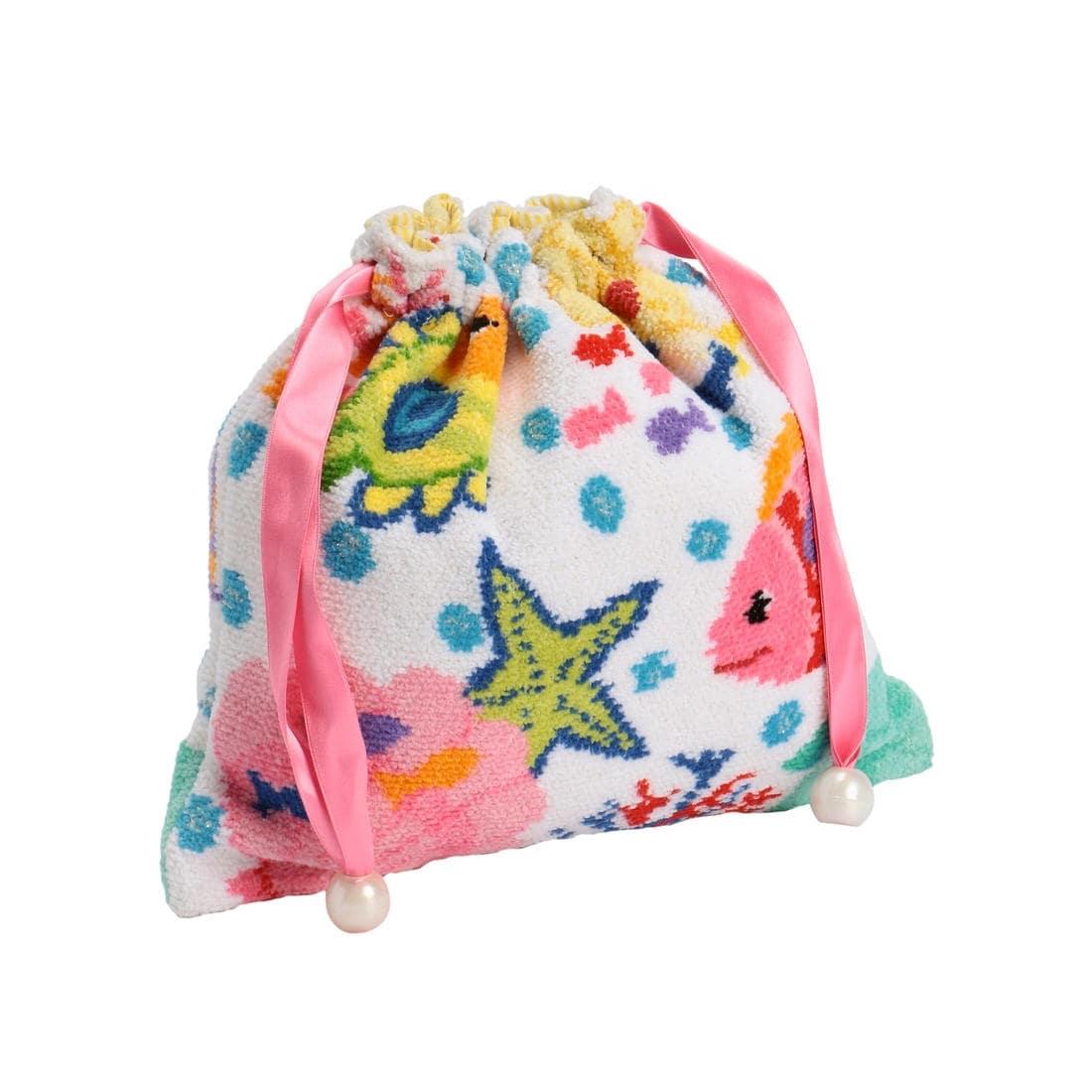 【限定品】 Chestyコラボ マリンフィッシュ巾着 MAF-170099
