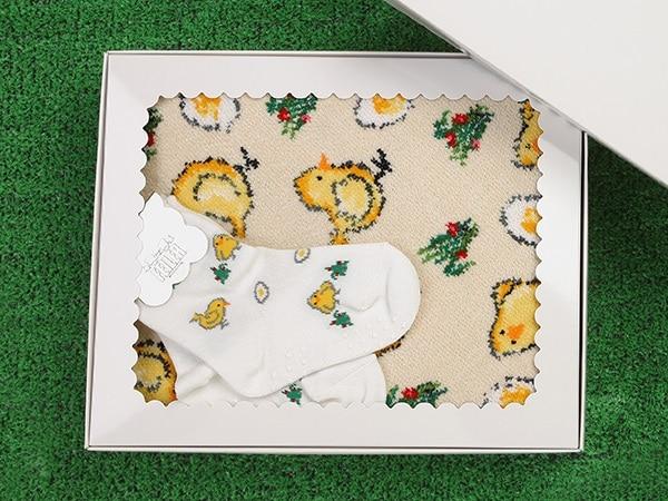 【WEB限定】 ピオピオ プティバス・靴下セットA FLECSET-1625