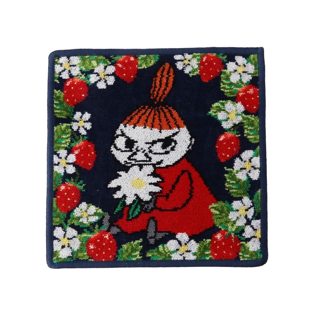 MOOMINコラボ リトルミイ マンシッカ ハンカチ(取扱店舗限定)
