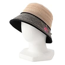 ゼラニウム<br>帽子<br>JEGER-191079<br>ブラック